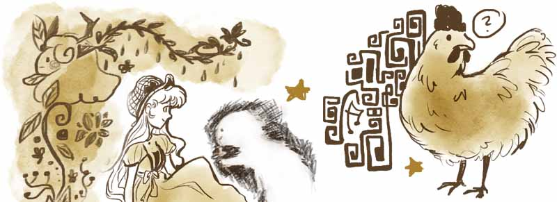 Sophia-Fendel-Kinderbuchillustration-Skizzenbuch-Sepia