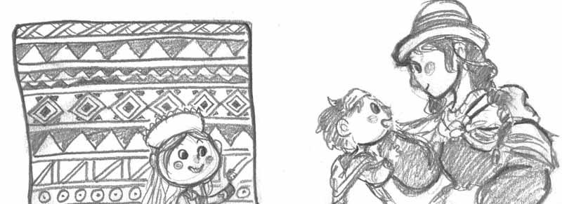 Sophia-Fendel-Kinderbuchillustration-Skizzen