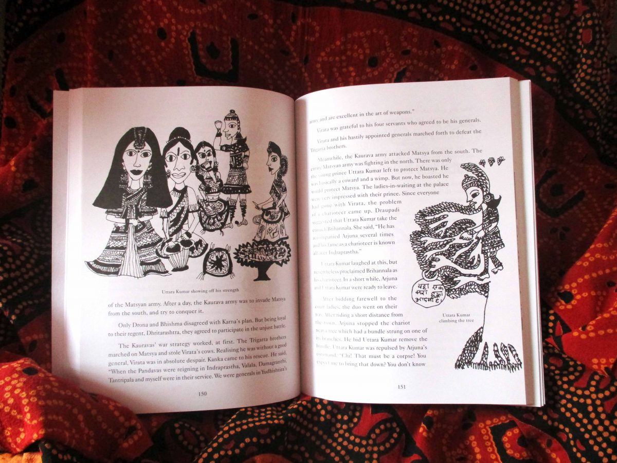 Sophia-Fendel-Picture-Book-Exchange-India-mahabharatha3